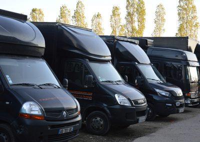 Parc véhicules Transmanutec