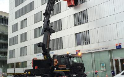 location camion nacelle Lyon, Rhône Alpes et France